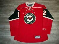 Reebok CCM Minnesota Wild Home Brian Rolston Hockey NHL Jersey Uniform Size LG