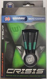 CRISIS 25 gram WINMAU Steel Tip Darts 90% Tungsten: 1 set: With Accessories