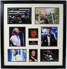Phil Collins Signed & Framed CD No Jacket Required AFTAL COA (C)