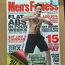 September Men's Monthly Health & Fitness Magazines