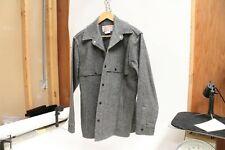 Vintage Filson Garment Jacket Size M Gray CC Filson Co Seatle