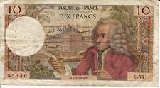 FRANCE 10 FRANCS 1970 CIRC