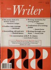 THE WRITER magazine June 1998 Costigan Schultz Spencer Kehret Ferron P.D. James