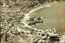 "Aerial View of Ancona Italy Operation Strangle World War 2 7x5"" Reprint Photo 59"