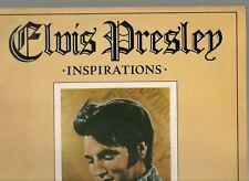 ELVIS PRESLEY.INSPIRATIONS.UK ORIG 1980 LP.EX/EX