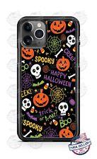 Happy Halloween Spooky Pumpkin Phone Case For iPhone Samsung Note 20 LG Google