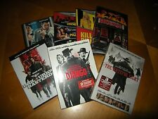 Quentin Tarantino 10-Film Collection (Kill Bill 1&2, Pulp Fiction, 7 more)..New