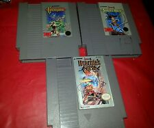 Castlevania  trilogy (Nintendo NES, 1987) Simmons quest Draculas curse
