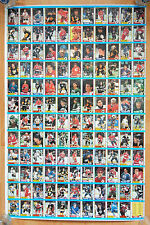 1989-90 OPC O-PEE CHEE HOCKEY UNCUT SHEET 132 CARDS NM JOE SAKIC BRIAN LEETCH RC