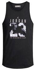Michael Jordan para hombres impreso chaleco gimnasio de baloncesto Air que tiene leyenda toptee Verano
