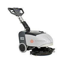 Nilfisk SC 351 Commercial Battery Automatic Floor Scrubber Cleaner Tennant Hako