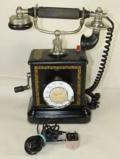 Rare Antique Kiobenhavns Telefon Aktieselskab Telephone Danish Sweden Phone