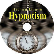 34 Books on CD – Ultimate Library on Hypnotism, Hypnosis Hypnotize Hypnotherapy
