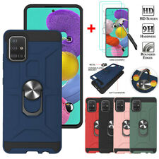For Samsung Galaxy A10e A20 A50 A51 A71 4G Shockproof Case Cover+ Tempered Glass