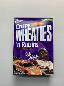 1997 Dale Earnhardt Crispy Wheaties N Raisins Racing Nascar Cereal Box UNOPENED