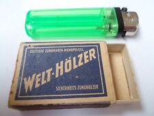 Ancienne boite allumettes vide - WELT-HÖLZER - GERMANY