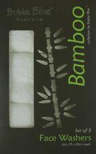 Bubba Blue Bamboo Face Washer Set 3pce