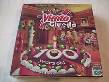 Vimto Cluedo.The Case of The Missing Birthday Cake 100 years old.Hasbro 2008