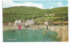 Postcard Porlock Weir Somerset unposted  (A12)