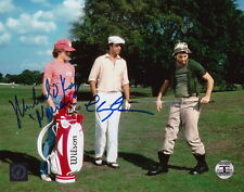 Chevy Chase & Michael OKeefe Autographed Caddyshack 8x10 Photo ASI Proof