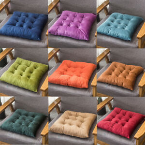 40X40cm Chair Seat Cushions Square Soft Pad Mat Dining Garden Patio Home Office