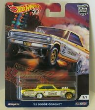 Hot Wheels 2018 Drag Strip Demons '65 Dodge Coronet Real Riders #3/5