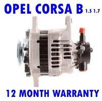 OPEL CORSA B 1.5 1.7 TD BOX HATCHBACK 1993 1994 1995 1996 - 2000 RMFD ALTERNATOR