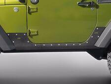 Smittybilt XRC Armor Body Cladding 2007-2016 Jeep Wrangler JK 2 Door 76886 Black