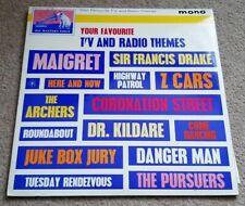 YOUR FAVOURITE TV AND RADIO THEMES SOUNDTRACK VINYL LP - HMV CLP 1565