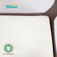 "Pack N Play Mattress Sheets for Portable Mini Crib Organic Cotton 2 Pack 39""x27"""