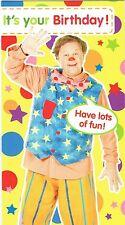 QUALCOSA SPECIALE It's Your Birthday Biglietto di auguri compleanno Mr tumble
