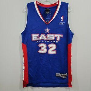RARE Reebok Shaquille O'Neal 32 Swingman 2005 All Star Game Jersey Mens S Sewn