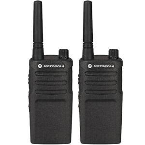 Motorola RMU2040 Two Way Radio Walkie talkie 4 Channel Military Grade 2 Pck