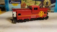 HO Athearn Santa Fe wide vision caboose for train