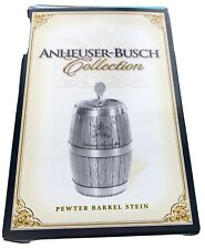 2003 Anheuser Busch Collection Pewter Barrel Beer Stein CS495 limited edition