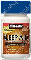 Kirkland Signature SleepAid Tablets 25 Mg EXPRESS CONSEGNA + TRACKING