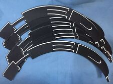 HED BLACK/ WHITE OUTLINE WHEELS RIM DECALS STICKERS SET FOR 70/88 RIM DEPTH