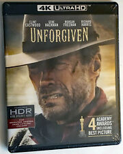 Unforgiven 4K Ultra Hd + Blu-Ray New and Factory Sealed No Slipcover