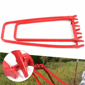 Ranch Barbed Wire Tightener Fence Tightening Repair Crimping Tool Chain Fixer