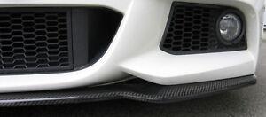 BMW F10 F11 5 Series Rieger OEM Carbon Fiber Front Splitter For M Sport Bumper