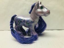 Cabbage Patch Kids Purple Magic Meadow Shimmer N Shine Pony Spring Song 6 Inch