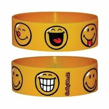 Official Smiley - Face - Rubber Gummy Wristband