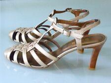 Claudia Price Olympio-Vannerie -/BRIDE Orné, beigegold métallisé, 41 NEUF