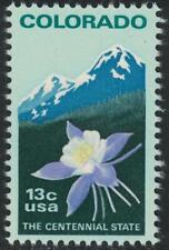 Scott 1711- Colorado Statehood, Rocky Mountains - MNH 13c 1977- unused mint