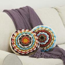 Herrschners® Autumn Floral Pillows Crochet Yarn Kit