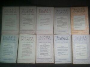 LOT*BUNDLE A.R.E. JOURNAL BOOKLETS*INC EDGAR CAYCE*SPIRITUAL*RARE*COLLECTABLE