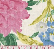 P Kaufmann The Queen's Favor Rose Floral Print Drapery Fabric BTY