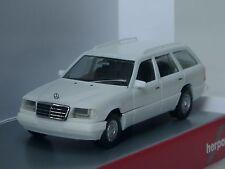Herpa Mercedes e 320 T-Modello (W 124), Bianco - 028554 - 1/87