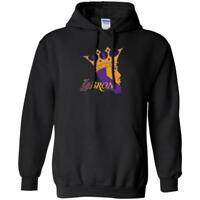 NEW HOODIE LABron PULLOVER KING LeBron lakers ADULTS SWEATSHIRT LABron CROWN