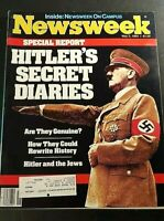 Newsweek / Hitler's Secret Diaries; Poland Soladarity; Third Party (May 2, 1983)